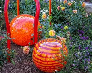 Dale Chihuly at Denver Botanic Gardens  JHI-0863