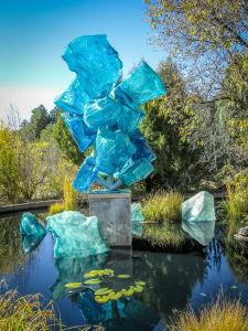 Dale Chihuly at Denver Botanic Gardens  JHI-0923